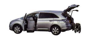 Toyota Mark X ZiO Welcab, Passenger Lift-up Car, B type 2008 г.