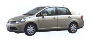 Nissan Tiida Latio 15M 2006 г.