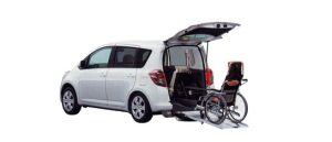 Toyota Ractis Welcab, Wheelchair Specification, Type I 2009 г.