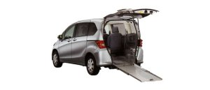 Honda Freed X FF Wheelchair-accessible model 2008 г.
