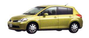 Nissan Tiida 15M 2007 г.