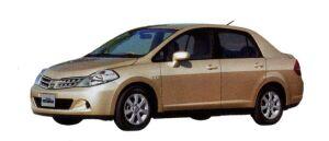 Nissan Tiida LATIO 15M 2008 г.