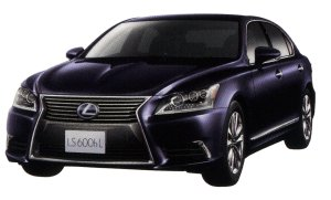 "Lexus LS600 hL, ""EXECUTIVE package (4-seater)"" 2014 г."