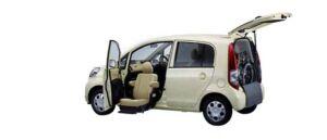 Honda Life F FF Lift-up Passenger Seat Version 2006 г.