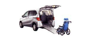 Honda Freed X FF Wheelchair-accessible model 2009 г.