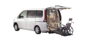 Nissan Serena Chair Cab Slope type (1 wheel chair in the 3rd row) (2WD) 2006 г.