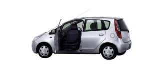 Mitsubishi Colt with Swivel Passenger Seat 2006 г.