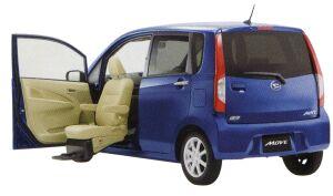 """Daihatsu Move Front-Seat Lift X """"SA"""" 2014 г."""