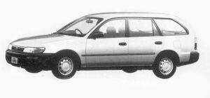 Toyota Corolla VAN 2000 DIESEL EXTRA GL 1993 г.
