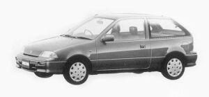 Suzuki Cultus 1000 g 1993 г.