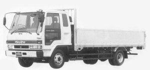 Isuzu Forward 195PS 4.25T 1993 г.