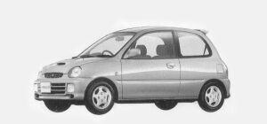 Mitsubishi Minica 3 DOORS SR-Z (A/T) 1993 г.