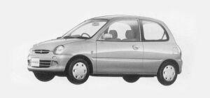 Mitsubishi Minica 3 Doors PJ (5M/T) 1993 г.