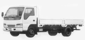 Isuzu Elf 2T WIDE CAB, HIGH FLOOR, SUPER LONG BODY 1993 г.