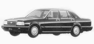 Nissan Gloria 4 DOORS SEDAN V30E VIP 1993 г.