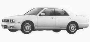 Nissan Gloria V30 TWINCAM TURBO ALTIMA TYPE X 1993 г.