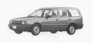 Nissan AD 4 DOORS VAN 4WD 1700 DIESEL VE 1993 г.