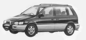 Mitsubishi RVR RVR X 4WD 2.0DOHC 16V 1993 г.