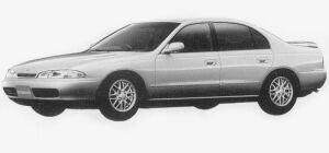 Mitsubishi Eterna V6 1.8 24V VISAGE-S 1993 г.
