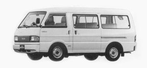 Mazda Bongo BRAWNY WAGON 2000 GASOLINE DX 1993 г.