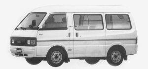 Mazda Bongo VAN HIGH ROOF 1500 GASOLINE 5 DOORS LG 1993 г.