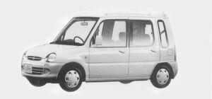 Mitsubishi Minica 1:2 doors Q3 1993 г.