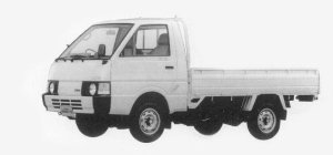 Nissan Vanette Truck LONG, SUPER LOW, DIESEL 2000DX 1993 г.