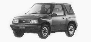 Suzuki Escudo CONVERTIBLE 1993 г.
