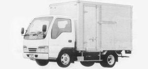 Isuzu Elf 2T DRY VAN (ALUMINUM GATE) 1993 г.