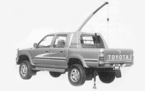Toyota Hilux ACTIVE BASE SSR-X 1993 г.