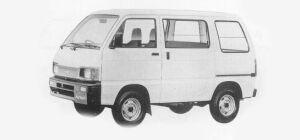 Daihatsu Hijet VAN STANDARD, LOW FLOOR, STANDARD ROOF 2WD 1993 г.