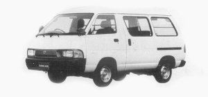 Toyota Townace VAN 2WD SUPER SINGLE 4 DOORS 2000 DX 1993 г.