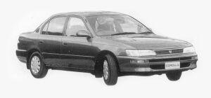 Toyota Corolla SEDAN 1500XE 1993 г.