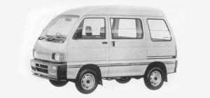 Daihatsu Hijet VAN HIGH CUSTOM HIGH ROOF 4WD 1993 г.