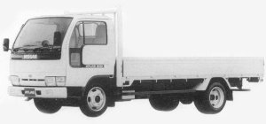 Nissan Atlas 2T HIGH ROOF FULL SUPER LOW DOUBLE TIRE 1993 г.