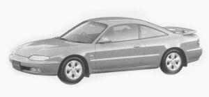 Mazda MX-6 2500 V6 1993 г.
