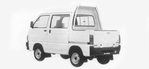 Daihatsu Hijet DECK VAN 1993 г.