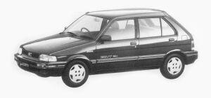 Subaru Justy 5 Doors Mf ECVT 1993 г.