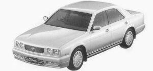 Nissan Gloria V30 TWINCAM TURBO ALTIMA 1993 г.
