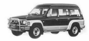 Nissan Safari WAGON EXTRA HIGHROOF 4200 DIESEL TURBO 1993 г.