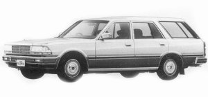 Nissan Gloria WAGON VG20E SGL 1993 г.