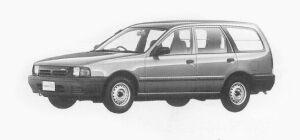 Nissan AD 4 DOORS VAN 1300VE 1993 г.