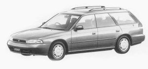 Subaru Legacy 4WD TOURING WAGON TX 1993 г.