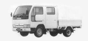 Nissan Atlas 1.0T LONG, SUPER LOW, DOUBLE TIRE DX 1993 г.