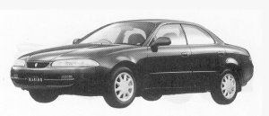 Toyota Sprinter Marino 1600 X 1992 г.