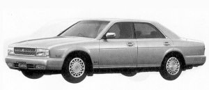 Nissan Cedric V30 TWIN CAM TURBO VIP 1992 г.