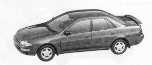 Toyota Carina SEDAN 1800 S 1992 г.