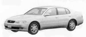 Toyota Aristo 3.0V 1992 г.