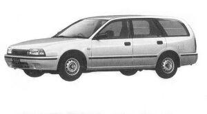 Nissan Avenir CARGO VX 1992 г.
