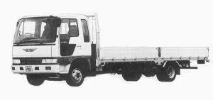 Hino Ranger CRUISING FD WIDE CAB 4T 1992 г.